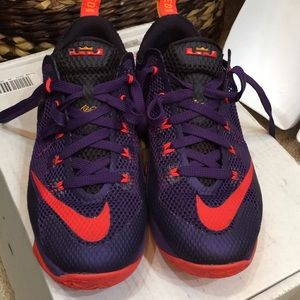 LeBron James limited edition Nike shoes
